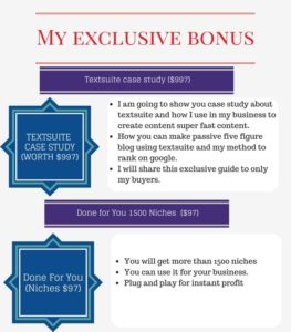 textsuite bonus