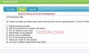 textsuite templates