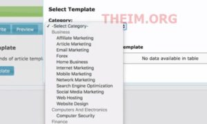 Article templates