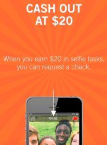 selfie minimum payment