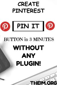 PIN IT BUTTON WITHOUT PLUGIN