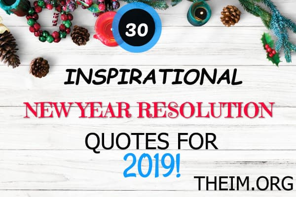 New year quotes and resolutions 2019