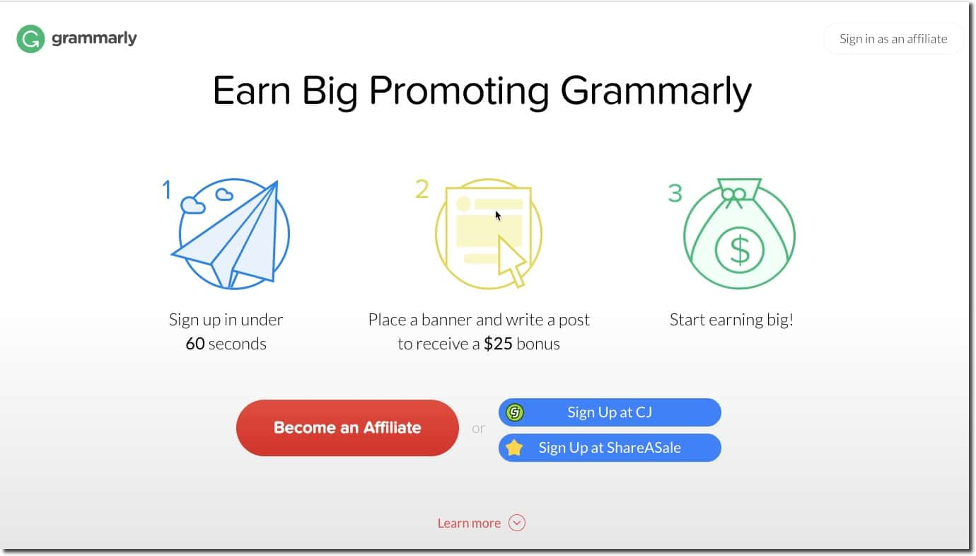 Image result for grammarly affiliate program