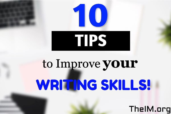 Tips on writing