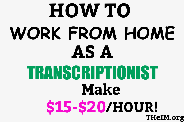 TRANSCRIPTIONIST jobs
