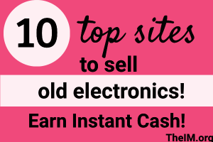 sell old electronics