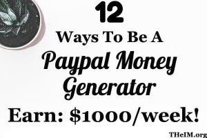 Paypal money generator