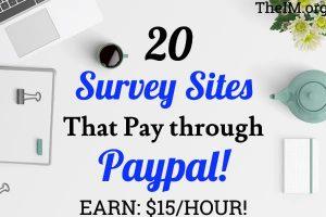paypal survey