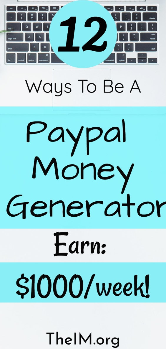 Ways to make money from Paypal