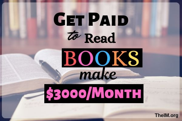 Get paid to read books