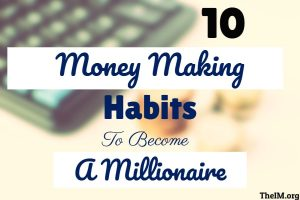 money making habits