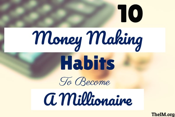 money making habits