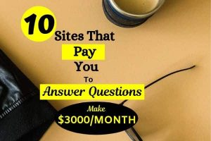 10 sites that pay you