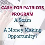 CASH FOR PATRIOTS PROGRAM review