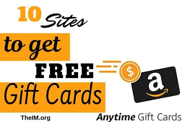 FREE GIFT CARDS