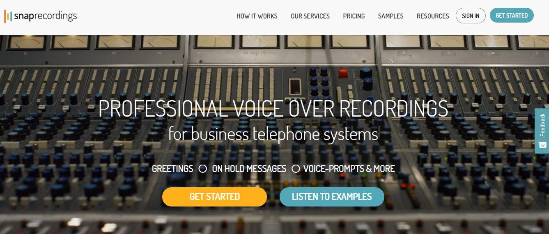 snaprecording webpage screenshot